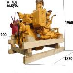 Размеры двигателя Т-170 Т-130