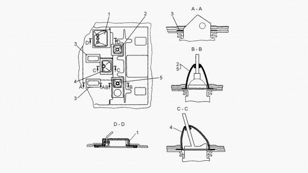 Установка уплотнений рычагов управления трактором с механической трансмиссией