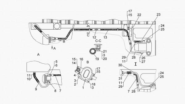 Гидравлическая система управления (для тракторов с гидромеханической трансмиссией)