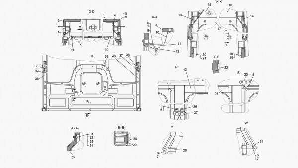 Кабина (для трактора с механической трансмиссией) - продолжение