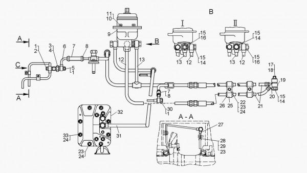 Система смазки механической трансмиссии
