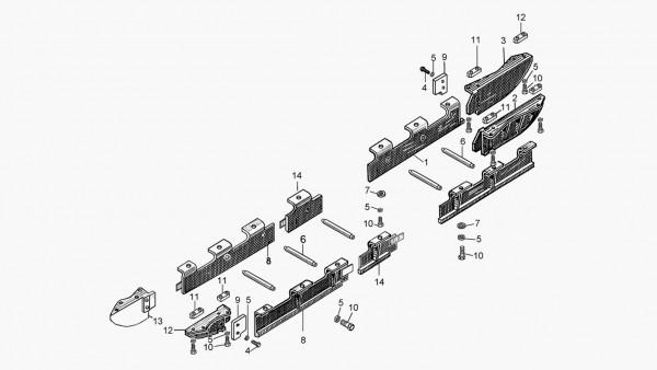 Установка щитков 24-64-3СП